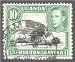 Kenya, Uganda and Tanganyika Scott 70 Used